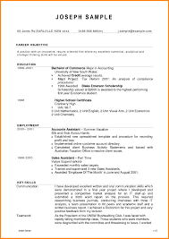 Ideas Collection Resume For Accounting Position Easy Sample For