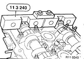 x diagram on how to reassemble the cam timing gears engine
