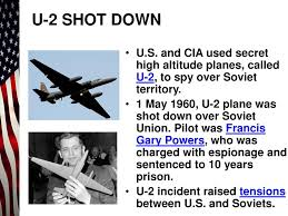 Image result for U.S. Air Force pilot Francis Gary Powers is sentenced to 10 years imprisonment by the USSR for spying.