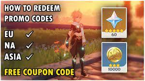 Genshin Impact - How to Redeem Code ...