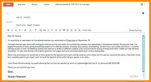 Emailing A Cover Letter And Resume Resume Email Body Sample Sample