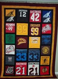 This one was a fun challenge! It was the first time I had made a ... & It was the first time I had made a quilt from ice hockey jerseys. I loved  finding creative ways to use the great logo… | Pinteres… Adamdwight.com