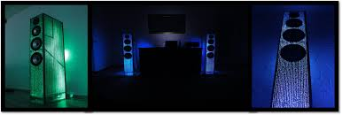 speakers light up. speakers light up