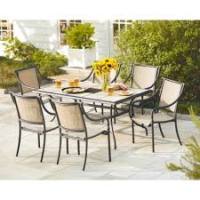 7 piece patio dining set. Hampton Bay Andrews 7-Piece Patio Dining Set 7 Piece I