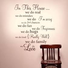 decorative wall words es family word decor