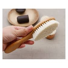 baby hair brush comb set baby hairdressing wooden comb pure natural wool shampoo bath shower brus