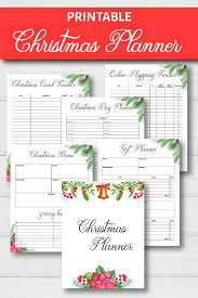 Day Tracker Planner Christmas Planner Free Printable Simply Stacie