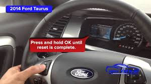 2001 Ford Taurus Check Engine Light 2014 Ford Taurus Oil Light Reset Service Light Reset