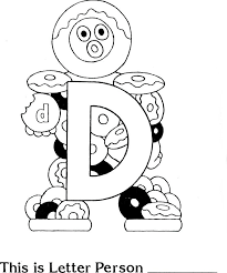 Small Picture d is for doughnuts preschool coloring sheet i love these letter