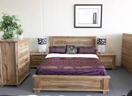Allegra Marri Timber Queen Bed
