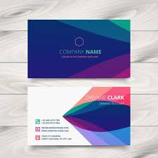 business card template designs colorful purple stylish business card template design download