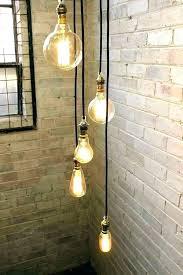 hanging light cord pendant