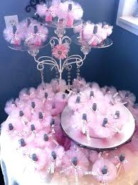 homemade baby shower centerpieces baby shower favors tutu nail polish homemade baby shower ideas for