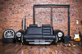 Check out these cool collection of 27 creative Famous cars inspired sofas  and couches. [Link]