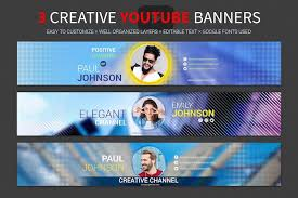 youtube channel banners 200 best youtube banner templates 2019