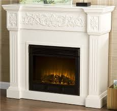 12 photos gallery of design white electric fireplace