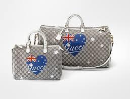 gucci bags australia. gucci limited edition australia theme bags