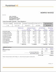 sample invice sample of invoices template examples