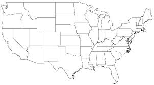 Blank Map Photo Printable United States Free With Capitals