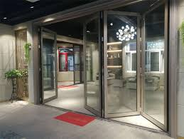 external white aluminium bifold doors double glazed aluminium folding patio doors