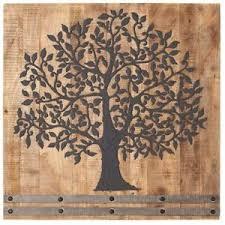 tree of life wall art wood