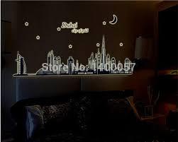 Small Picture Aliexpresscom Buy Dubai City Of Gold Glow In The Dark Bedroom