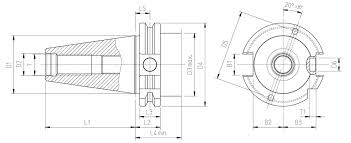 cat 40 tool holder dimensions. steep taper sk50 cat 40 tool holder dimensions