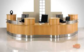 interesting office lobby furniture. Curved Reception Counter Interesting Office Lobby Furniture S