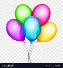 Colorful Balloons Birthday Decoration