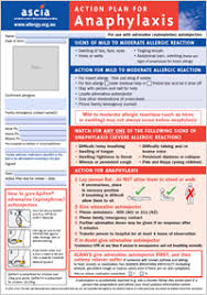 Epipen Chart Ascia Action Plan Anaphylaxis Australasian Society Of