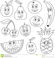 Royalty Free Stock Photo Fruit Cartoon