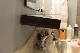 Lowes Bathroom Shelves Floating Vanity Lowes