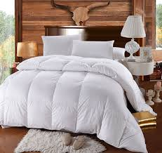 com california king size down comforter 500 thread count siberian goose down comforter 100 percent cotton 500 tc 750fp 60oz solid white home