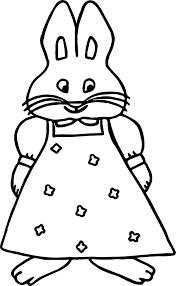 Small Picture Girl Max And Ruby Coloring Page Wecoloringpage
