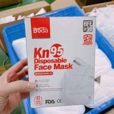 10pcs KN95 mask 5-Ply fold FFP2 mask CE double label ... - Vova
