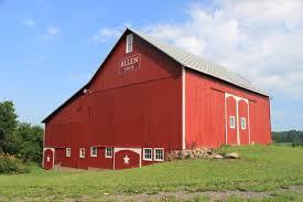 farm barn. File:Centennial Barn Allen Farm Clinton Michigan.JPG A