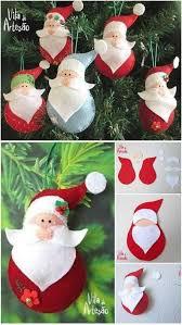 85 Best Crafts Felt Christmas Ornaments Images On Pinterest Easy Christmas Felt Crafts