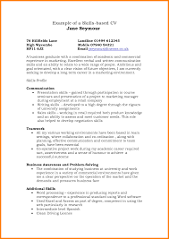 Skills Based Skills Based Resume Example As Great Resume Examples