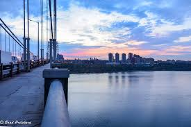 a photo essay nyc sunrise from the george washington bridge one of my first shots of the morning the view from the south side of