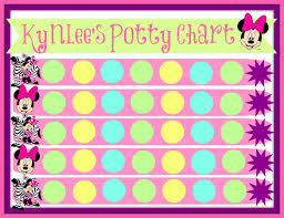 Free Printable Mickey Mouse Potty Training Chart Minnie Mouse Potty Chart This Has Been Working With