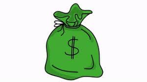 Transparent Animated Money Bag Usd Sketch Illustration Hand Drawn Animation Transparent