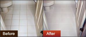 muriatic acid to clean grout. Unique Clean Before After Groutrageous Grout Cleaner On Bathroom Tile In Muriatic Acid To Clean
