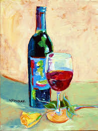 painting with wine best of nancy standlee fine art design on wine acrylic wine