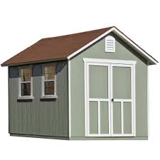 deluxe wooden home office. Installed Meridian Deluxe 8 Ft. X 12 Wood Storage Shed Wooden Home Office