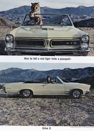 Promofile: Crouching Tiger, Hidden Burnouts..GTO ads in the 1960s ...