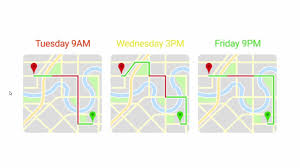 google maps helps developers to predict travel time using a new api Google Maps Travel Time google maps api 2 google maps travel time in seconds