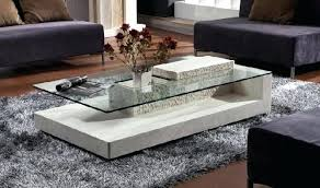 modern coffee table glass exellent glass top