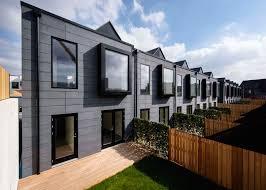 modular homes by Urban Splash and Shedkm, prefab housing project  Manchester, prefab housing Irwell