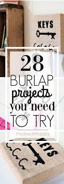 Burlap Crafts 960 Best Burlap Crafts Decor And Ideas Images On Pinterest