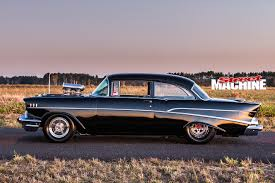 1000HP BLOWN 1957 CHEVROLET 210 | Street Machine